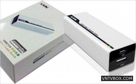 Pin Sạc Dự Phòng SSK 2200 mAh
