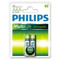 Pin Sạc Philips NiMH AAA 900mAh R03B2A90