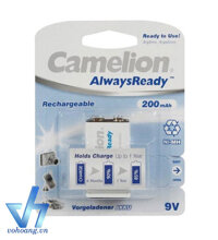 Pin sạc vuông 9V Camelion Premium - 200mAh
