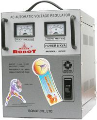 Ổn áp Robot NEW MILLENIUM - 8KVA, 140V, 1 pha