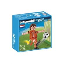 Player Netherlands Playmobil PL4735