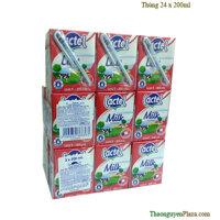 Sữa tươi ngoại Lactel tiệt trùng nguyên kem hiệu Lactel 20ml - Thùng 24 hộp