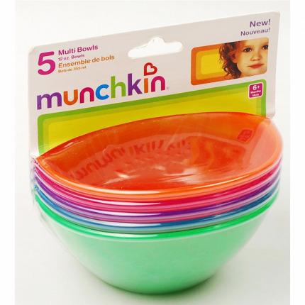 Bộ 5 bát nhựa Munchkin 10265