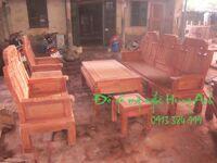 bộ bàn ghế như ý đầu voi bb027