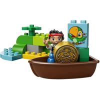 Bộ xếp hình lạc vào đảo hoang Jake's Treasure Hunt Lego 10512