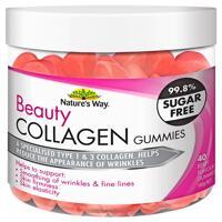 Kẹo dẻo chống lão hóa Nature's Way Beauty Collagen 40 viên của Úc