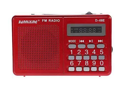 Đài nghe nhạc Bannixing D-68E