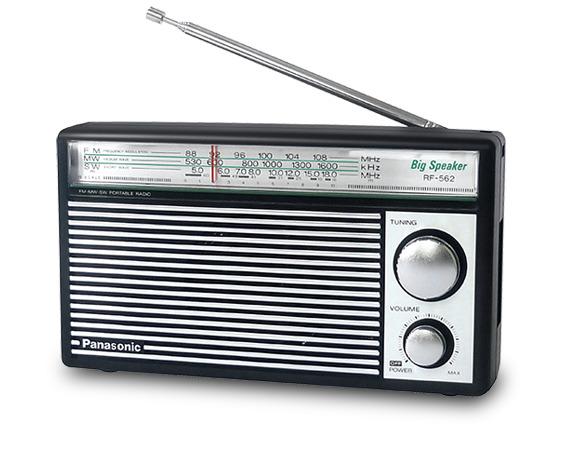 Đài radio Panasonic RF-562D