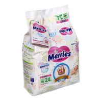 Tã dán Merries S24 - 24 miếng,cho bé 4 -  8kg