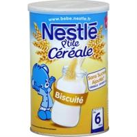 Bột ngũ cốc ăn dặm Nestle vị bích quy biscuite - 400g