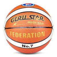 Quả bóng rổ da PU Gerustar Federation số 7