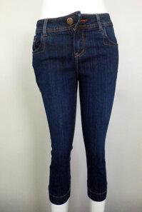 Quần jean lửng nữ màu xanh - JL-003-M1