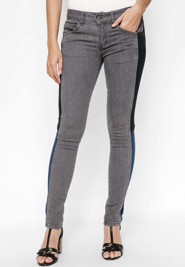 Quần jeans skinny phối màu độc đáo Jiar E500070540
