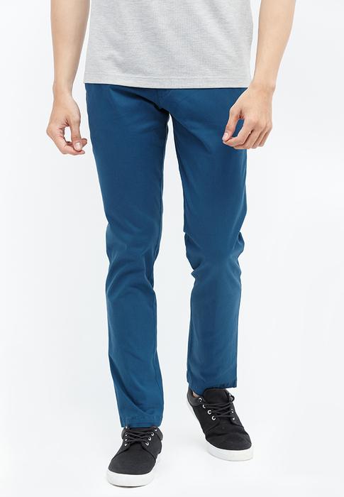 Quần kaki Novelty xanh dương NQKMMDNCSF1608850