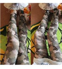 Quần legging nữ rằn ri