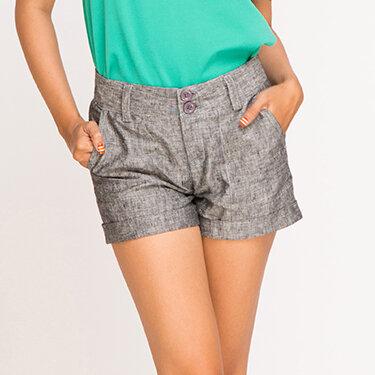 Quần shorts linen Hity Fashion PAN011