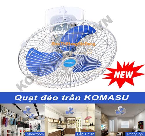 Quạt đảo trần CN KOMASU 50cm KM500-QDT