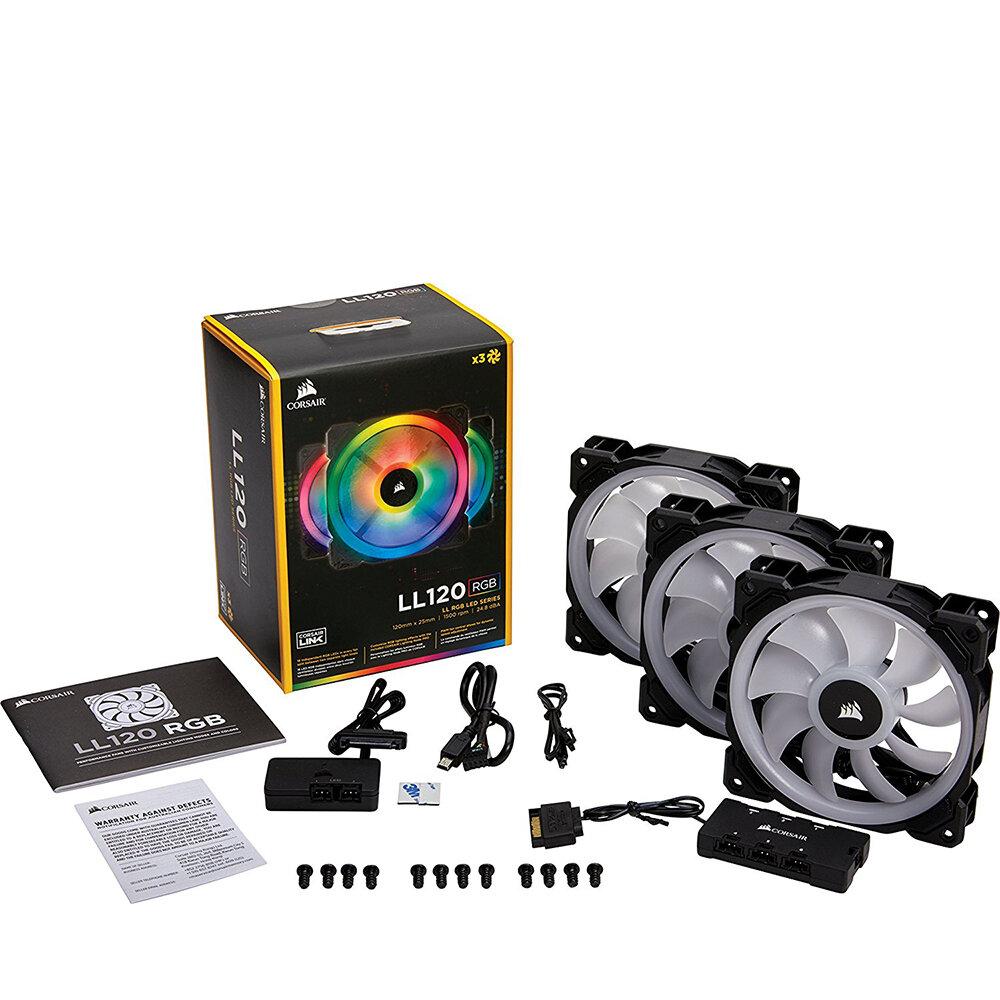Quạt tản nhiệt Corsair LL120 RGB