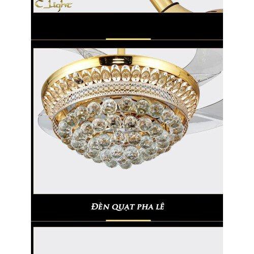 Quạt trần đèn - Quạt trần trang trí MSP 9906