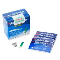 Que thử đường huyết Acon On-Call Plus Blood Glucose Test Strips - 25 que