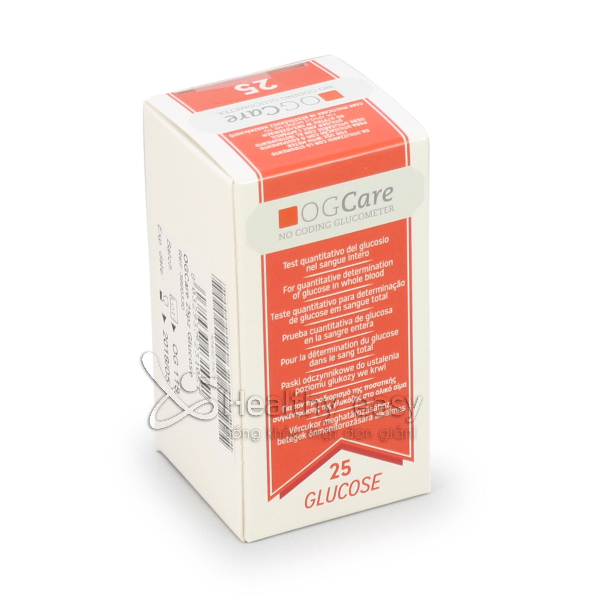 Que thử đường huyết OG-Care