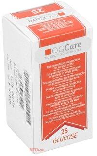 Que thử đường huyết OGCARE (25 que)