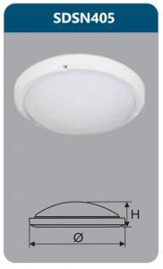 Đèn led ốp trần chống thấm Duhal SDSN405 15W