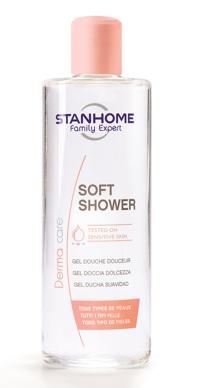 Sữa tắm trị mụn không xà phòng Stanhome Soft Shower 400ml