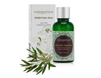 Tinh dầu tràm trà Milaganics hương thơm ấm áp đặc trưng, giúp trị cảm, ho 30ml