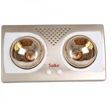 Đèn sưởi nhà tắm Saiko BH-2551H - 2 bóng vàng