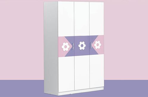 Tủ quần áo trẻ em kiểu dáng công chúa BABY love - BL928Q