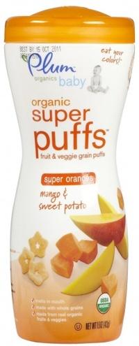 Bánh tan Plum Organic vị xoài, khoai lang