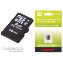 Thẻ nhớ Toshiba 8gb class 4 Fullbox - the8gtoshibaclass4
