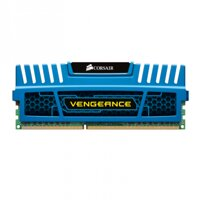 RAM Corsair Vengeance Red - DDR3 - 8GB Kit (2 x 4GB) - Bus 1600MHz - PC3 12800 (CMY8GX3M2A1600C9R)