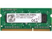RAM DDR3 G.Skill F3-10666CL9S-2GBSQ 2GB