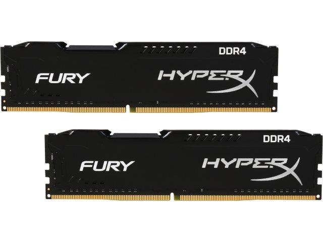 RAM Kingston 8Gb (2x4Gb) DDR4-2133 - HX421C14FBK2/8