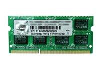 Ram laptop Gskill F3-10666CL9S-8GBSQ - 8GB/ DDR3/ 1333Mhz