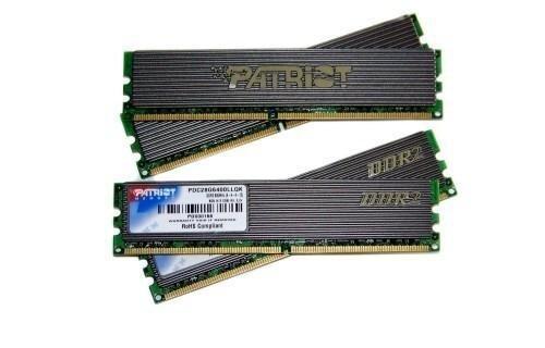 RAM Patriot 2Gb DDRam III Bus 1333MHZ