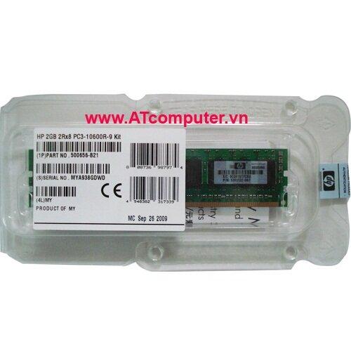 Ram server HP 16GB Registered PC3-10600 CL9 ECC DDR3, Part: 500666-B21