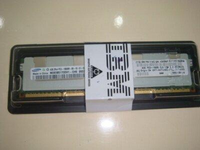 Ram sever IBM 4GB (1x4GB, Dual Rankx8) PC3-10600 CL9 ECC DDR3-1333MHz LP RDIMM-44T1599 (dùng cho máy X3650M4)
