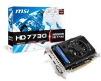 Card đồ họa (VGA Card) MSI R7730-1GD5V1 - ATI Radeon HD7730, GDDR5, 1GB, 128bits, PCI E 3.0