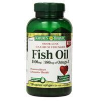 Dầu cá Nature's Bounty Fish Oil 1400mg