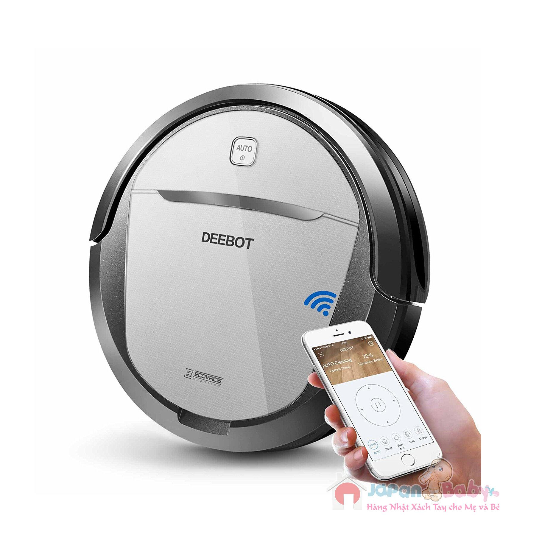 Robot hút bụi Deebot M80 Pro