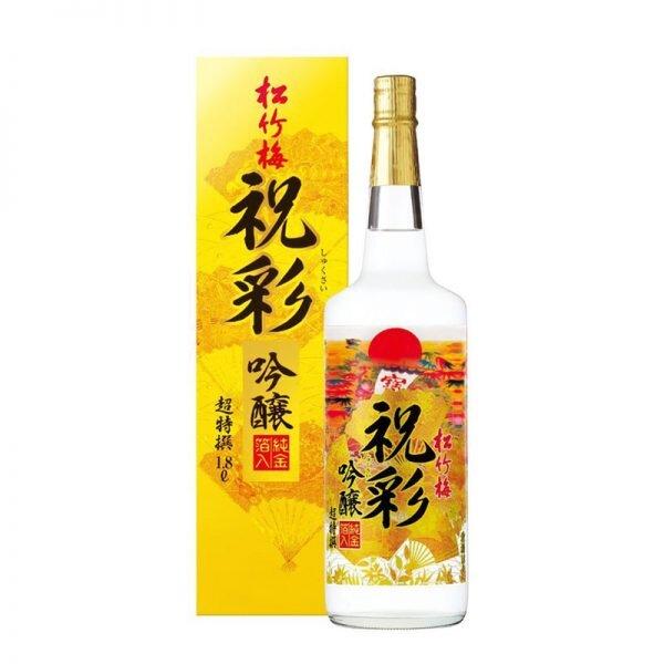 Rượu Sake vảy vàng chai trắng - 1800ml