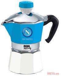 Bình pha cà phê thể thao Bialetti Napoli 3 cup 990004382