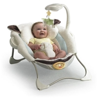 Ghế rung My Little Lamb Deluxe Infant Seat 8 điệu nhạc Fisher Price P2792