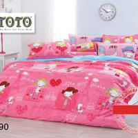 Bộ drap cotton thương hiệu ToTo nhập khẩu Thái Lan TT390 1.8m
