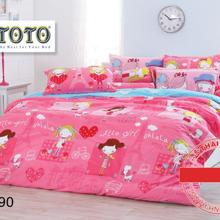 Bộ drap cotton thương hiệu ToTo nhập khẩu Thái Lan TT390 1.8m ...
