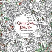 Sách Tô Màu Dành Cho Người Lớn - Giáng Sinh Diệu Kỳ
