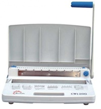 Máy đóng tài liệu gáy xoắn Silicon BM-CW1200